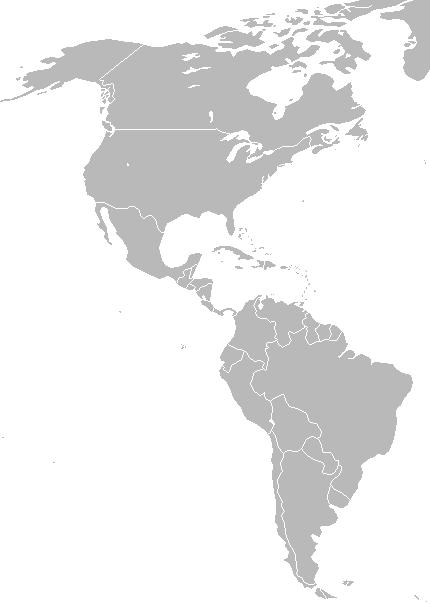 carte amériques